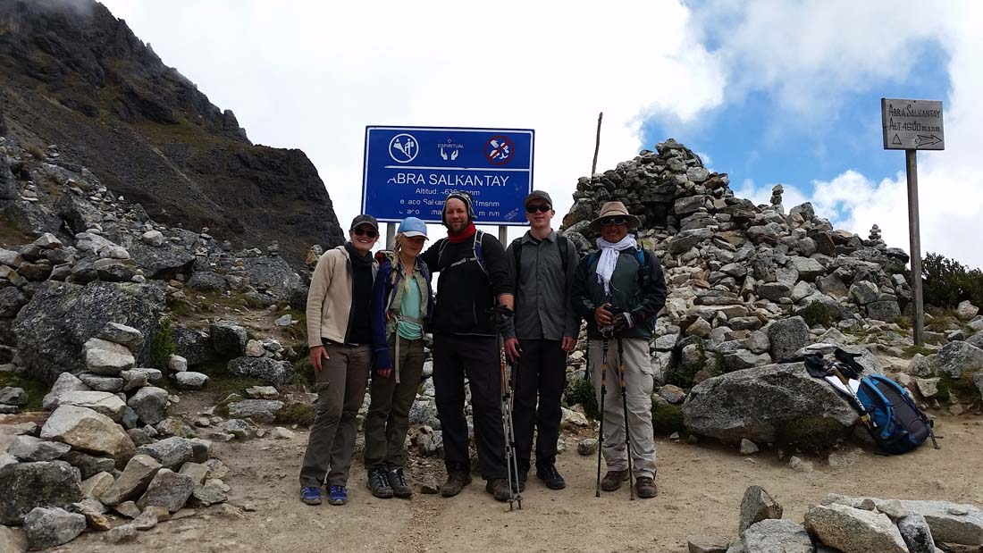 The Salkantay Trek Saga…Day 2…Over the Pass