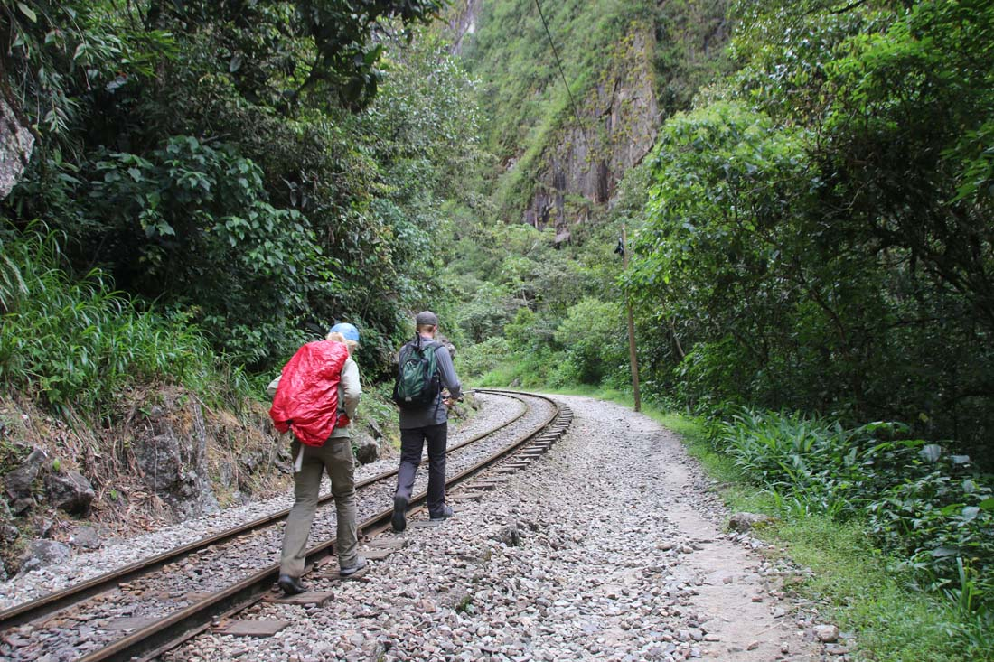 The Salkantay Trek Saga…Day 4…Down the Tracks