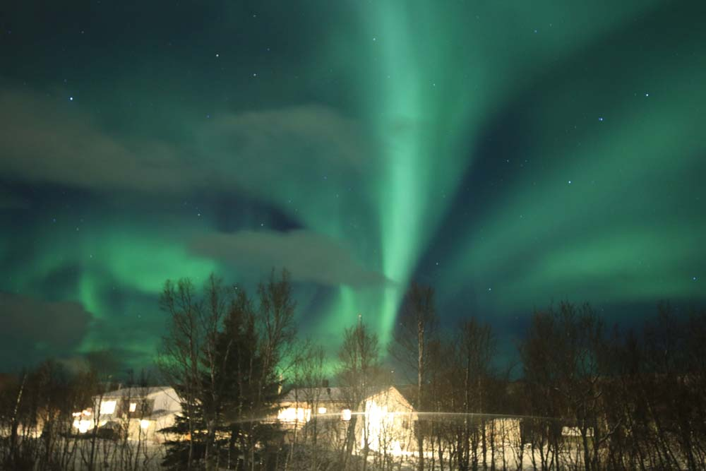 Norway, Northern Lights and Happy New Year!